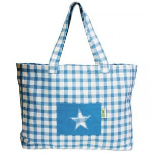 Win Green Beach Bag (Blau)