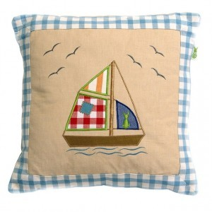 Beach House Playhouse Cushion Cover (Win Green)