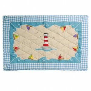 Beach House Playhouse Quilt (Win Green - Groß)