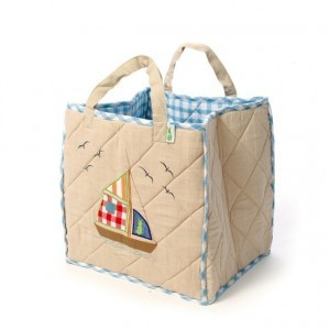 Beach House Playhouse Toy Bag (Win Green)