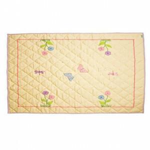 Butterfly Cottage Floor Quilt Klein (Win Green)