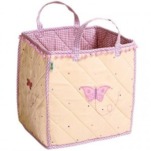 Butterfly Cottage Toy Bag (Win Green)