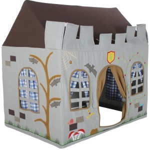 Win Green Knight's Castle Playhouse (Groß) + Floor Quilt