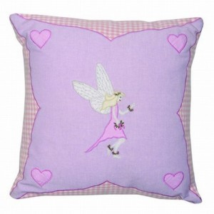 Fairy Cottage Cushion Cover (Win Green)