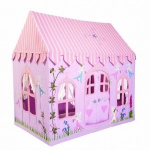 Fairy Cottage Playhouse (Groß) + Floor Quilt Win Green