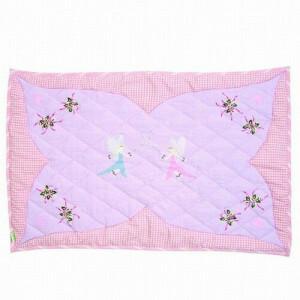 Fairy Cottage Floor Quilt (Win Green – Klein)