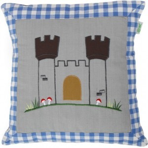 Knight Castle Cushion Cover (Win Green)