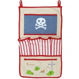 Piratenspielzelt Organiser (Win Green)