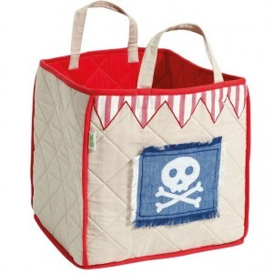 Piratenspielzelt Toy Bag (Win Green)