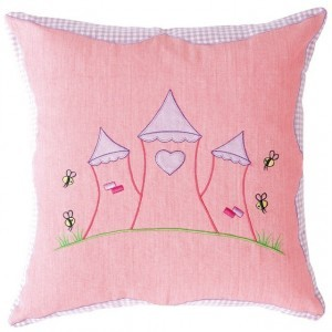 Princess Castle Cushion Cover (Win Green)