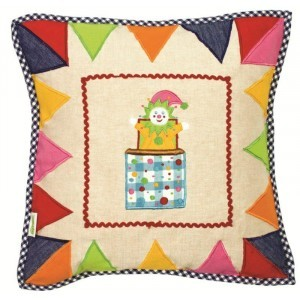 Toy Shop Playhouse Cushion Cover (Win Green)