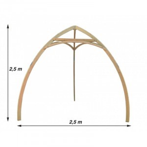 Cacoon Tripod Holz